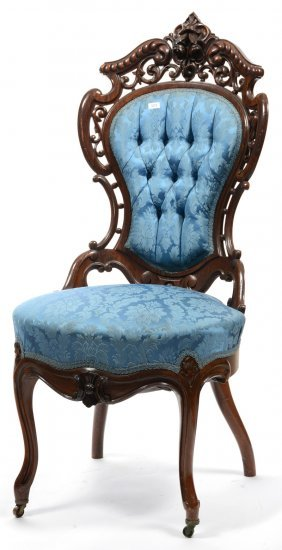 "40"" Laminated Rosewood Chair - Stanton Hall Pattern By"