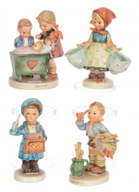 (4) Hummel Figurines Including