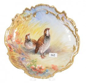 """9"""" Limoges Plate"""