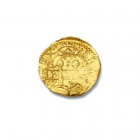 1715 Fleet Spanish Eight Escudo Coin