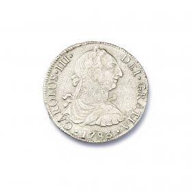 El Cazador Silver Reales Coin