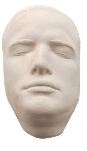 Young Marlon Brando Plaster Lifecast