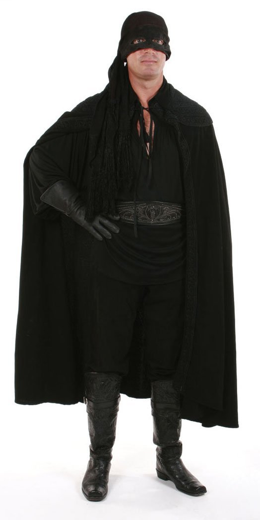 Zorro Mask Costume 40