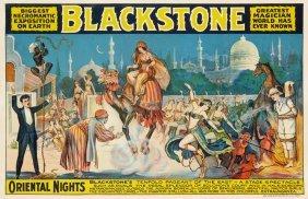 Blackstone, Oriental Nights