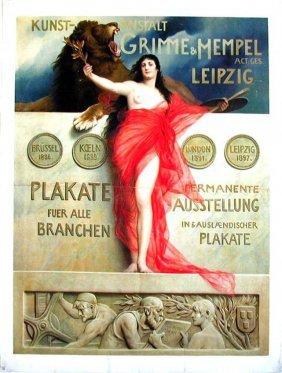 Grimme & Hempel Leipzig / Plakate
