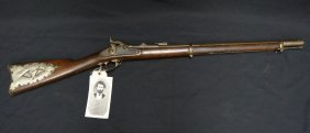 Springfield Rifle Of Theodore Judah