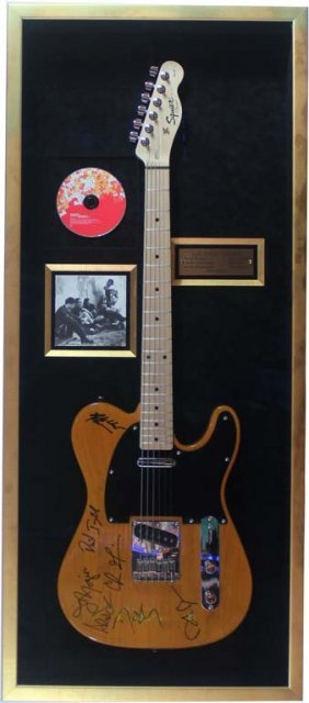 Electric Guitar Signed By Counting Crows