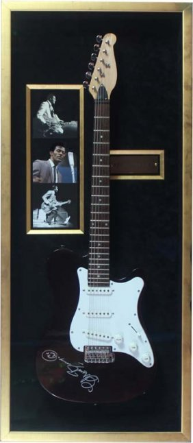 Chuck Berry-signed Electric Guitar