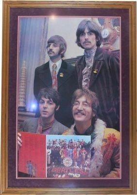 Beatles: Knighting Ceremony Photo