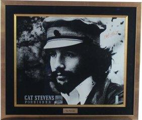 Cat Stevens Autographed Photo
