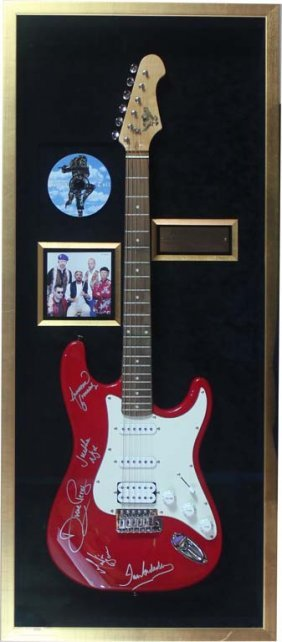 Jethro Tull Autographed Electric Guitar