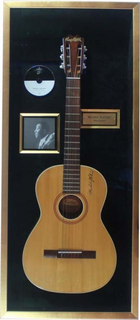 Muddy Water Signed Acoustic Guitar