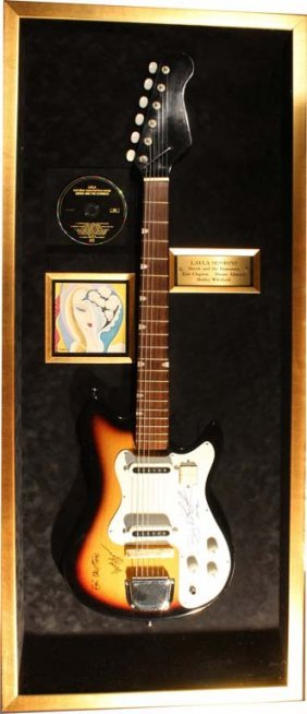 Derek And The Dominoes Signed Electric Guitar