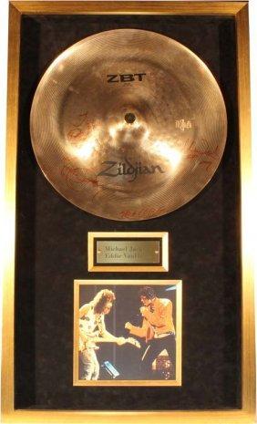 Michael Jackson/ Van Halen Cymbal