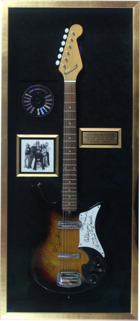 Lynard Skynyrd Autographed Electric Guitar