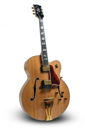 2002 Gibson Super 400 Cesn Blonde, Robert Yelin