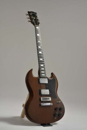 Early '70s Gibson Sg Standard, Owned & Signed By Stuart