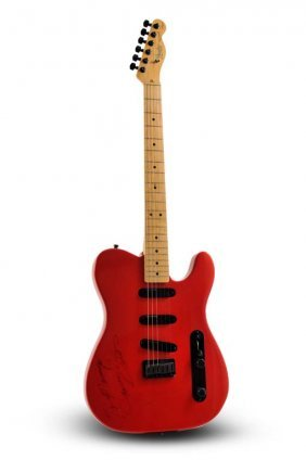 Signed 1990 Fender James Burton Telecaster