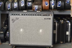 Mid-80s Fender Showman Amp, Robert Yelin Collection