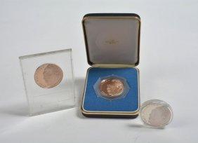 Franklin Mint Medals (set Of 3)