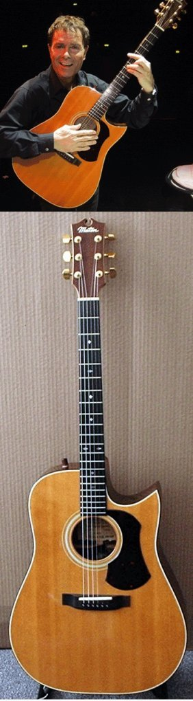 Cliff Richard Owned And Played Maton Messiah Guitar