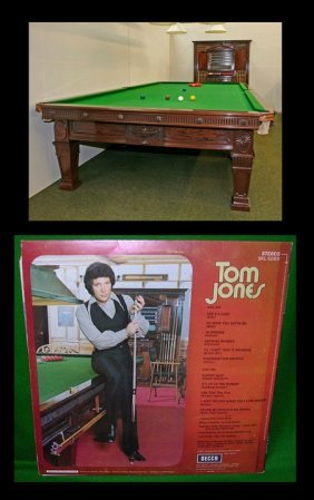 Tom Jones Billiard Table