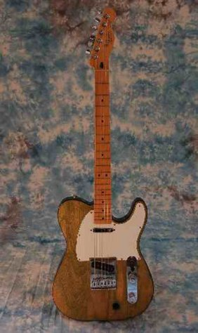 Status Quo Francis Rossi's Other  Green Telecaster