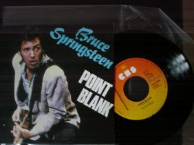 Bruce Springsteen Point Blank Single CBSA 1489