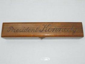 President John F. Kennedy Box & Cigar