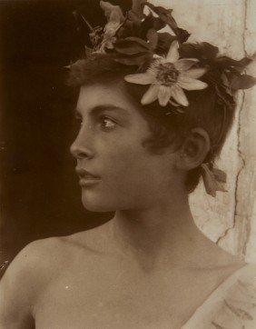 Wilhelm Von Gloeden (1856-1931) Untitled (Sicilian
