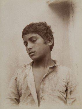 Wilhelm Von Gloeden (1856-1931) Untitled (Portrait