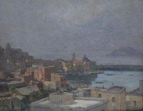 Biagio Mercadante (Torraca, SA 1892 - 1971)  Vedut
