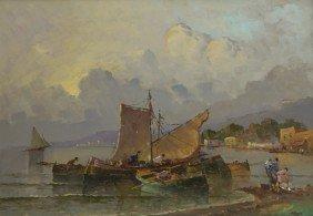 Monti (Scuola Napoletana Del XX Secolo) Barche Di