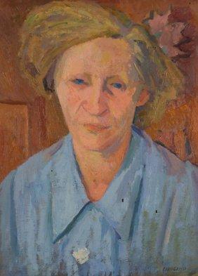 Giuseppe Capogrossi (Roma, 1900 - 1972) Ritratto D