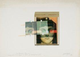 Paolo Gioli (b. 1942) L'occhio Di Alice, 1982