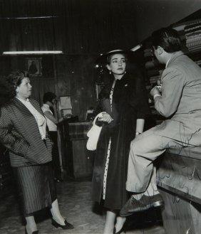 Callas, Maria E Giuseppe Di Stefano Fotografia Con