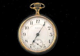 Elgin 17 Jewel Pocket Watch 1904