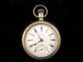 Waltham 24 Hour Dial Pocket Watch 1892