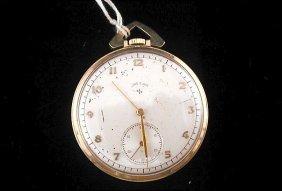Lord Elgin Pocket Watch 21 Jewel 7 Adjustments