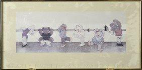 Jane Mason Burke Framed Print