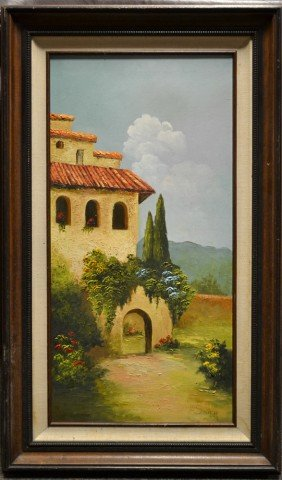 L.C. Smith, Oil Painting On Canvas