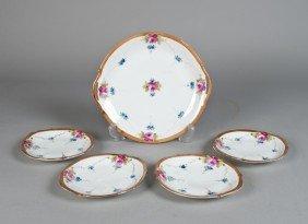 (5) Piece Nippon Dessert Set