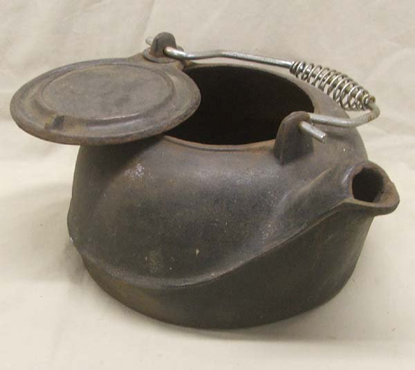 Kettle Cast Iron ~ Vintage cast iron tea kettle lot
