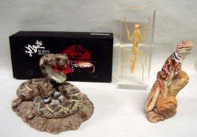 Group Of 3 Wildlife Figurines