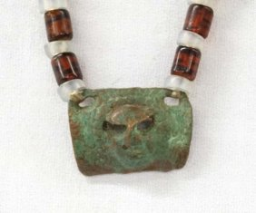 Trade Bead Pendant Necklace