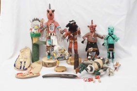 Native American Kachinas In Need Of Tlc