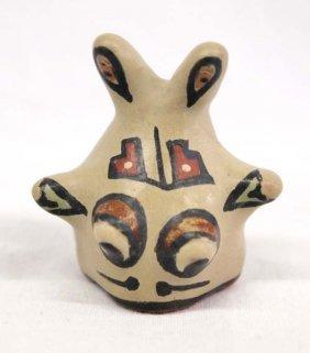 Native American Santa Clara Mini Fish Pottery