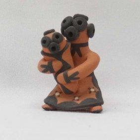 Jemez Pottery Mudhead Storyteller