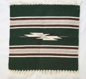 1980 Chimayo Stylized Bird Rug