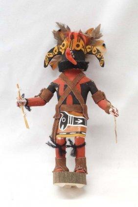 Navajo Hand Carved Ogre Kachina